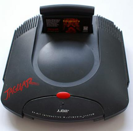 The Jaguar console: Atari's last attempt to re-enter the video gaming market. (picture: jaapan.de)