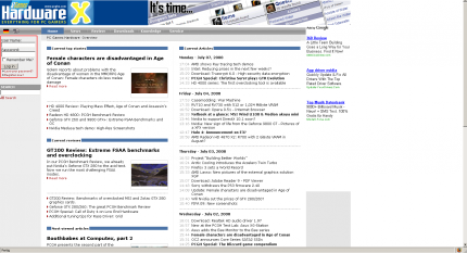 The Log in area is located at the upper left side of the website.