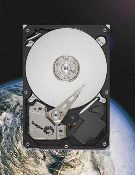 Seagate is the first company to deliver a hard drive with 1.5 Terabyte. (picture: Seagate)
