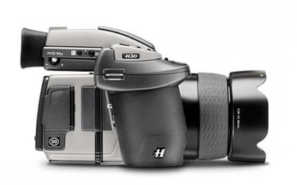 The dream of every Megapixel fan: The Hasselblad H3DII-50 (picture: Hasselblad)