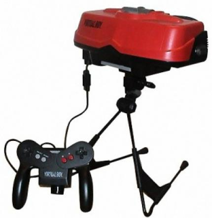 "The Virtual Boy – certainly one of the ugliest consoles ever. The ""glasses"" had to be placed on a table and thus were useless for any mobile purposes. (picture: Foolx.de)"