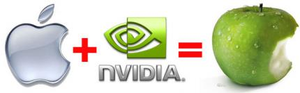 Apple is said to cooperate with Nvidia. (picture: pcper)