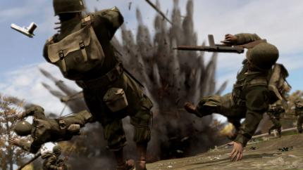 Detonation in Brothers in Arms (Bild: Gameswelt)