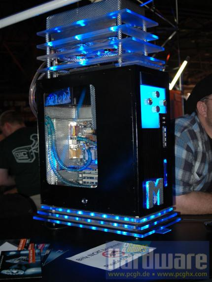 Third place case mods: Blue M reloaded by Mark-Alan Githens (picture: PCGH)