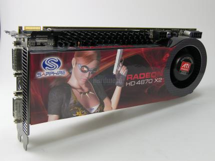 Radeon HD 4870 X2: Full throttle with the right profile.