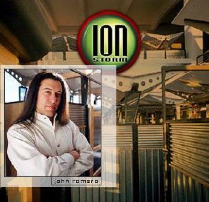 John Romero thought of himself as a celebrity. He rents big luxury offices for Ion Storm and raised expectations he couldn't fulfill. (picture: images.salon.com)