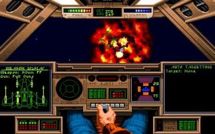 1990: Wing Commander (Sometimes it even paid off to upgrade the EMS memory for Wing Commander.)