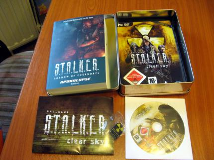Stalker: Clear Sky: die Limited Edition