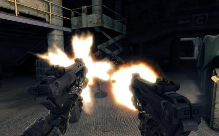 Crysis Warhead: Dual-MP action