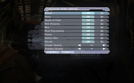 Dead Space: Low Quality Settings (picture: PCGH)