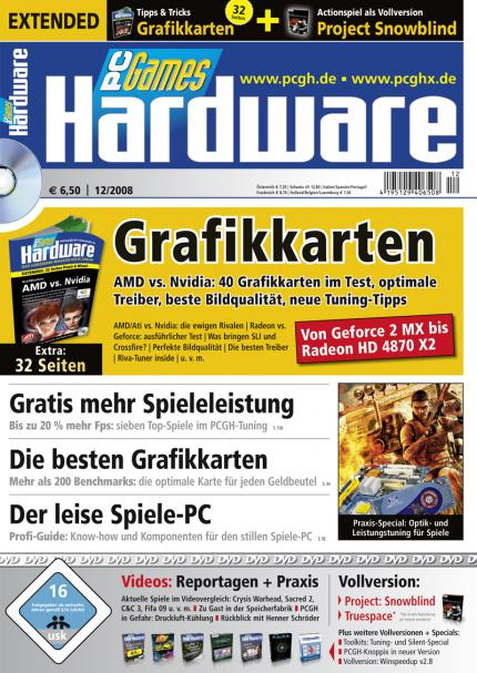 PC Games Hardware Extended 12/2008: der Titel