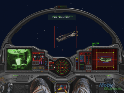 1994: Wing Commander 3 (The third part of the Wing Commander series was quite demanding like Origin's Strike Commander of Ultima game series)