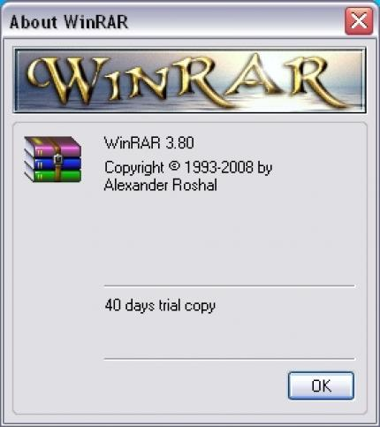 Winrar 3.80 will be available today.