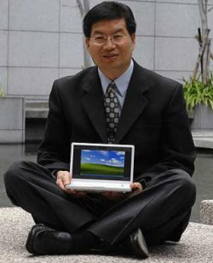 Eee PC: Asus CEO Shen wants to skip Vista on the Eee PCs. (picture: apcmag.com)