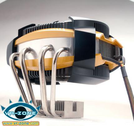 The UFO V51 is Glacialtech's latest CPU cooler. (picture: VR-Zone.com)