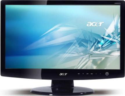 Acer H223HQ with 16:9 dimensions