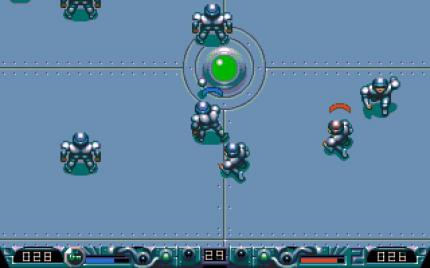 And the original: Speedball 2 - Brutal Deluxe, 1992 (picture: Mobygames.com)
