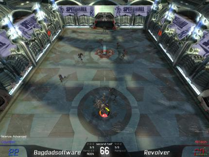 Remake: Speedball 2 - Tournament, 2007 (picture: Mobygames.com)