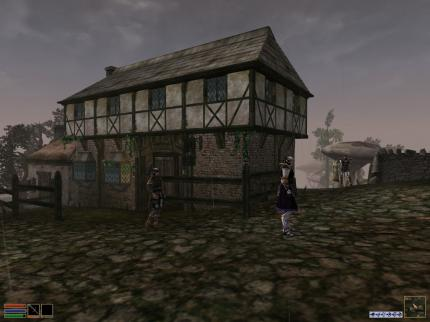 The Elder Scrolls III - Morrowind: Medieval timber-framed house.