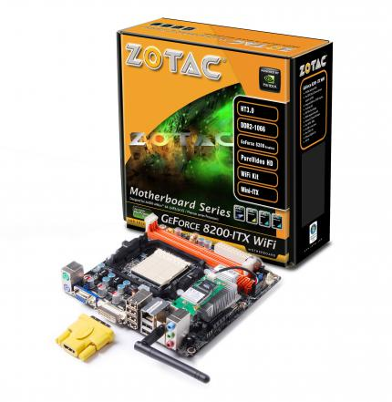 Zotac Geforce 8200-ITX Wifi (picture: Zotac)