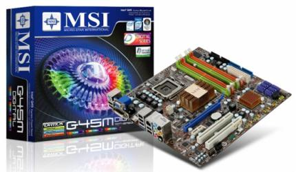 MSI G45M Digital (Bild: MSI) (1)