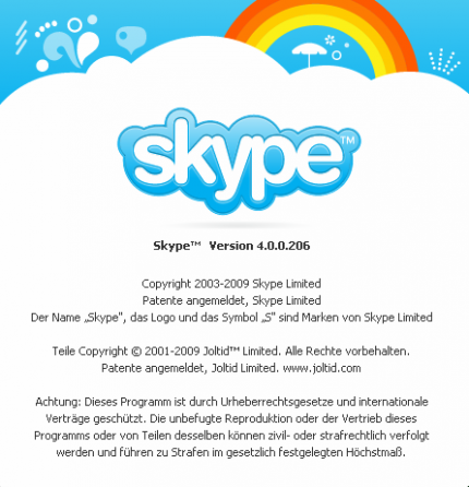 Skype 4.0 with new user interface