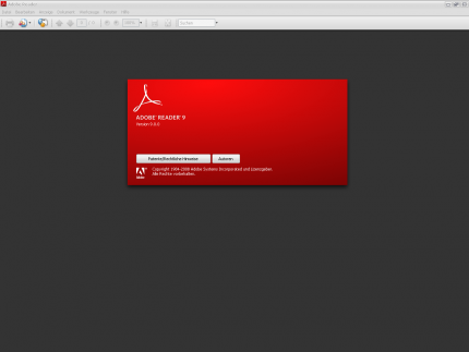 Adobe Reader and Acrobat 9: Security vulnerability closed.