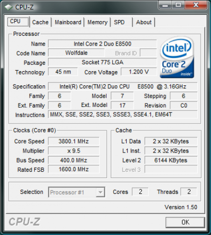 CPU-Z 1 52 with installer ready for download