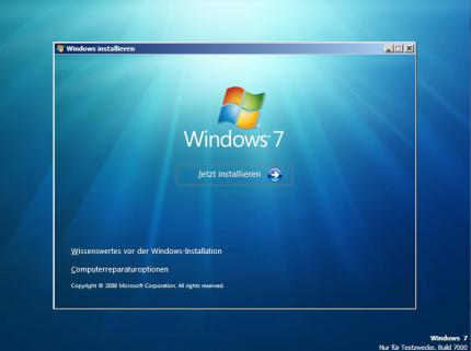 Bilder aus der Beta 1 von Windows 7 (18)