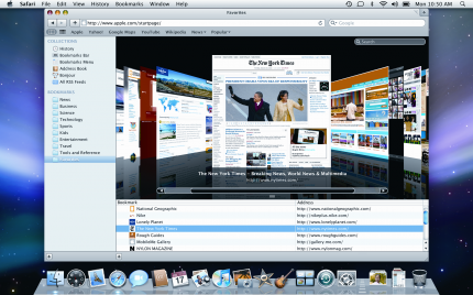 Safari 4 Coverflow