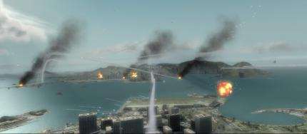 Tom Clancy's HAWX: The fierce dogfights over Rio de Janeiro are quite challenging for graphics cards and processors.