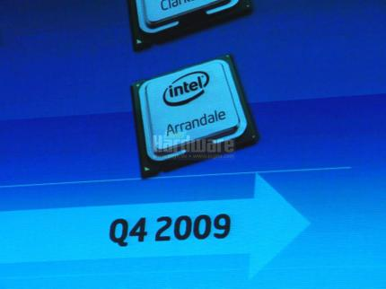 Intel announced Arrandale dual-core processors with Hyperthreading and integrated graphics unit. (2)
