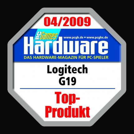 The Logitech G19 received a Top Product Award in issue 04/2009 of our German print magazine.
