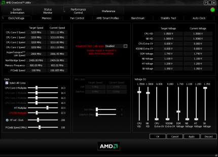 AMD Overdrive Version 3.01 (6)