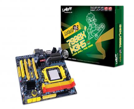 DFI Lanparty JR-790GX-M3H5