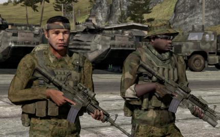 ArmA 2 with maximal Details