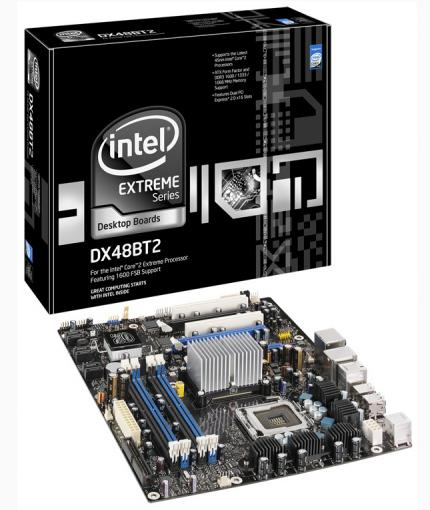 Intel DX48BT2: X48 motherboard Bonetrail 2 is discontinued