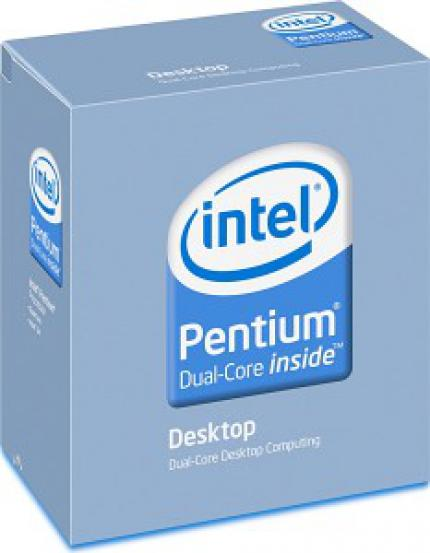 Intel Pentium Dual Core - introduced as E2 in 65 nm, popular as E5 in 45 nm and available as E6 in 45 nm soon?