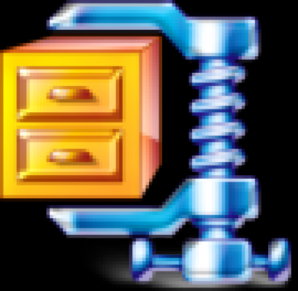 Winzip is – according to the producers – the most frequently used program for handling compressed files.