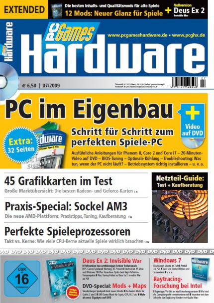 PC Games Hardware, Heftausgabe 07/2009, Extended-Cover