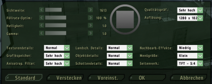 ArmA 2: Our settings for the CPU benchmarks