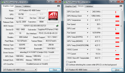 Sapphire HD 4890 Atomic: Review of the 1 GHz graphics card (10)