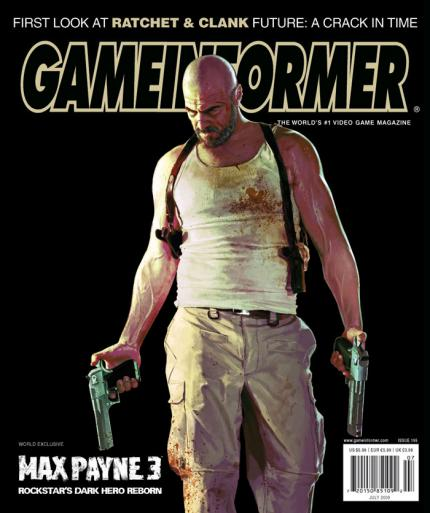 Max Payne 3: Cover of Game Informer