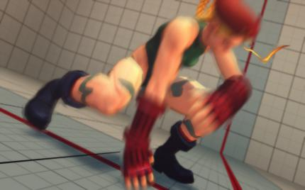 Street Fighter IV PC: Motion Blur