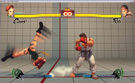 Street Fighter IV PC: Stretch Motion Blur (2)