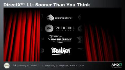 DirectX 11: Sooner than you think (from AMD's presentation)
