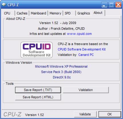 Download: CPU-Z 1 52 als finale Version erschienen