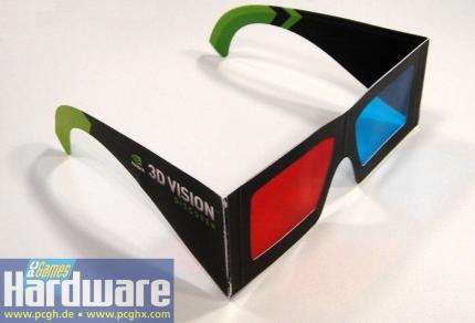 3D Vision Discover Brille