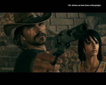 Klasse inszenierte Cut Scenes bei Call of Juarez: Bound in Blood