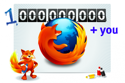 Mozilla Firefox: 1,000,000,000 downloads in reach